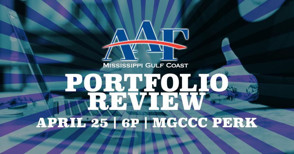 AAF MS Gulf Coast Student Portfolio Review